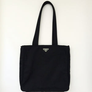 Authentic PRADA Medium Black Tote