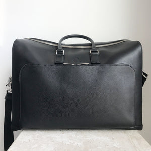 Authentic Leather GUCCI Duffle  Black Leather