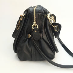 Authentic CHLOE Paraty Limited Edition Black Satchel Bag