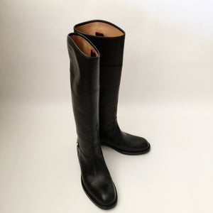 Authentic GUCCI Horsebit Riding Boots Size 7