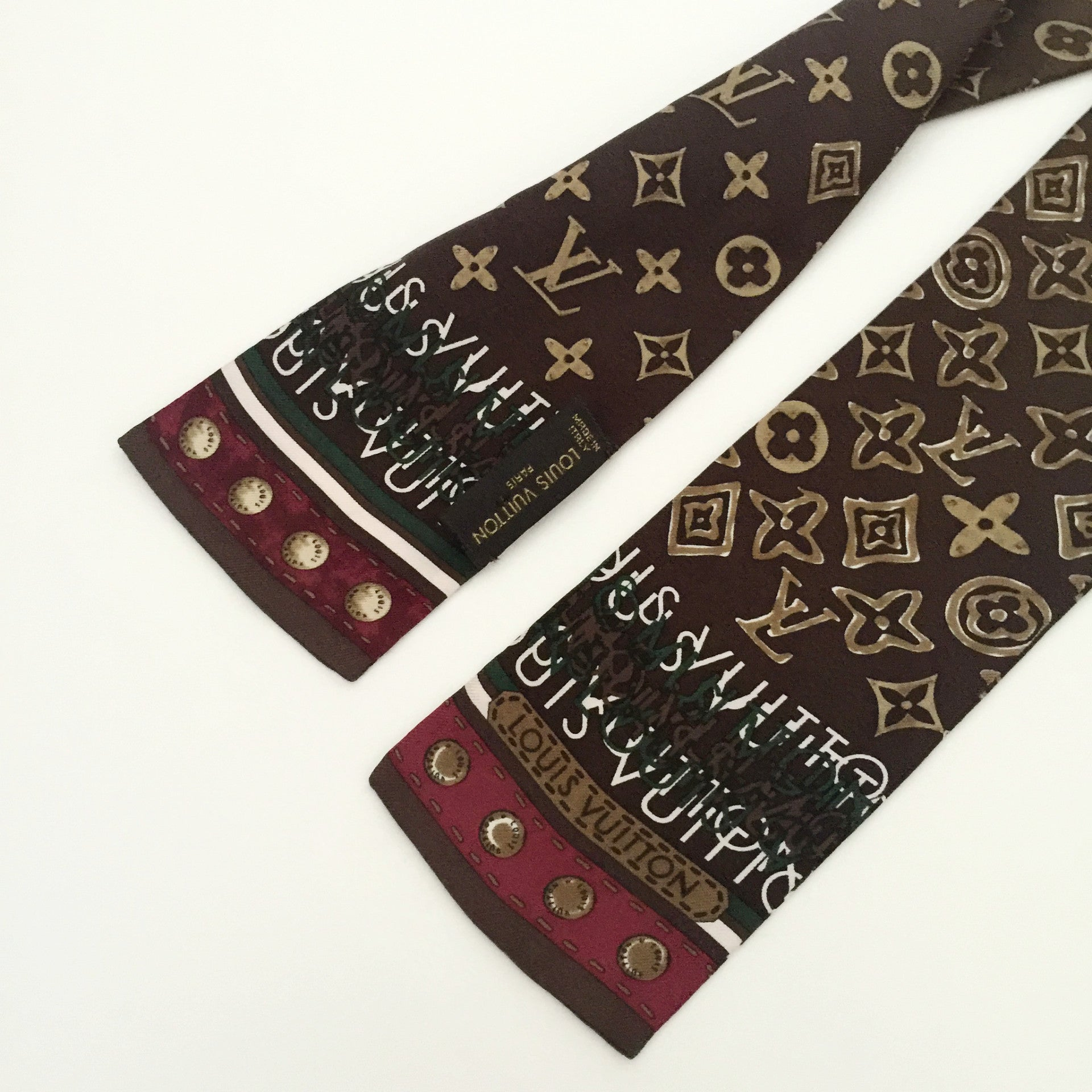 Authentic LOUIS VUITTON Monogram Bandeau