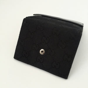 Authentic GUCCI Small Black Wallet