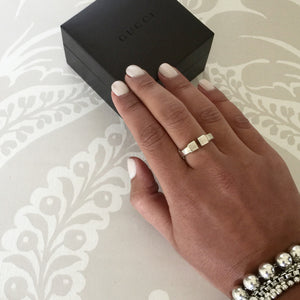 Authentic GUCCI Ring Size 7.5