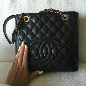 Authentic CHANEL Caviar Tote