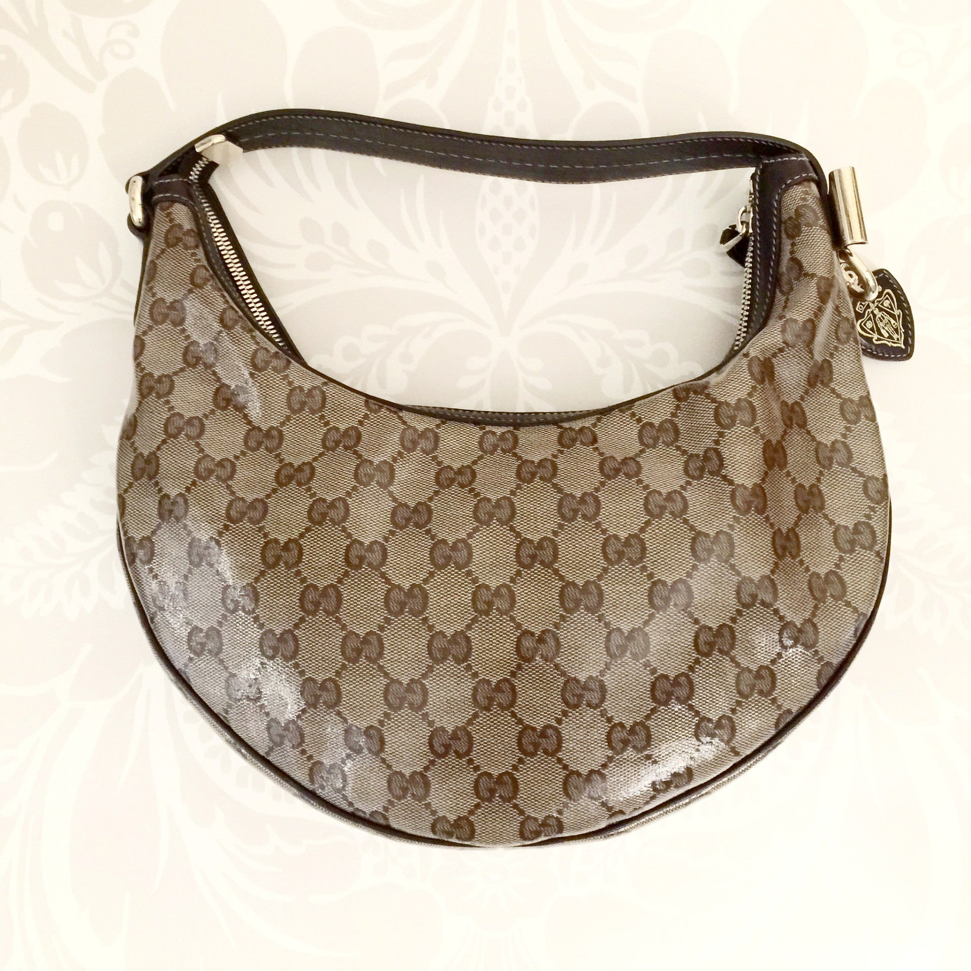 Authentic GUCCI Crystal Small Hobo