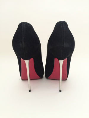 Authentic CHRISTIAN LOUBOUTIN Zipito 120 Booties Size 38.5