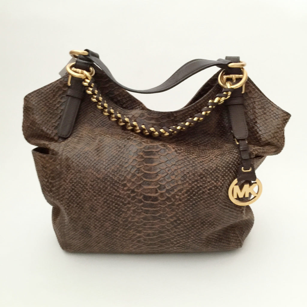 740e07e8b205 Authentic MICHAEL KORS Tristan Hobo