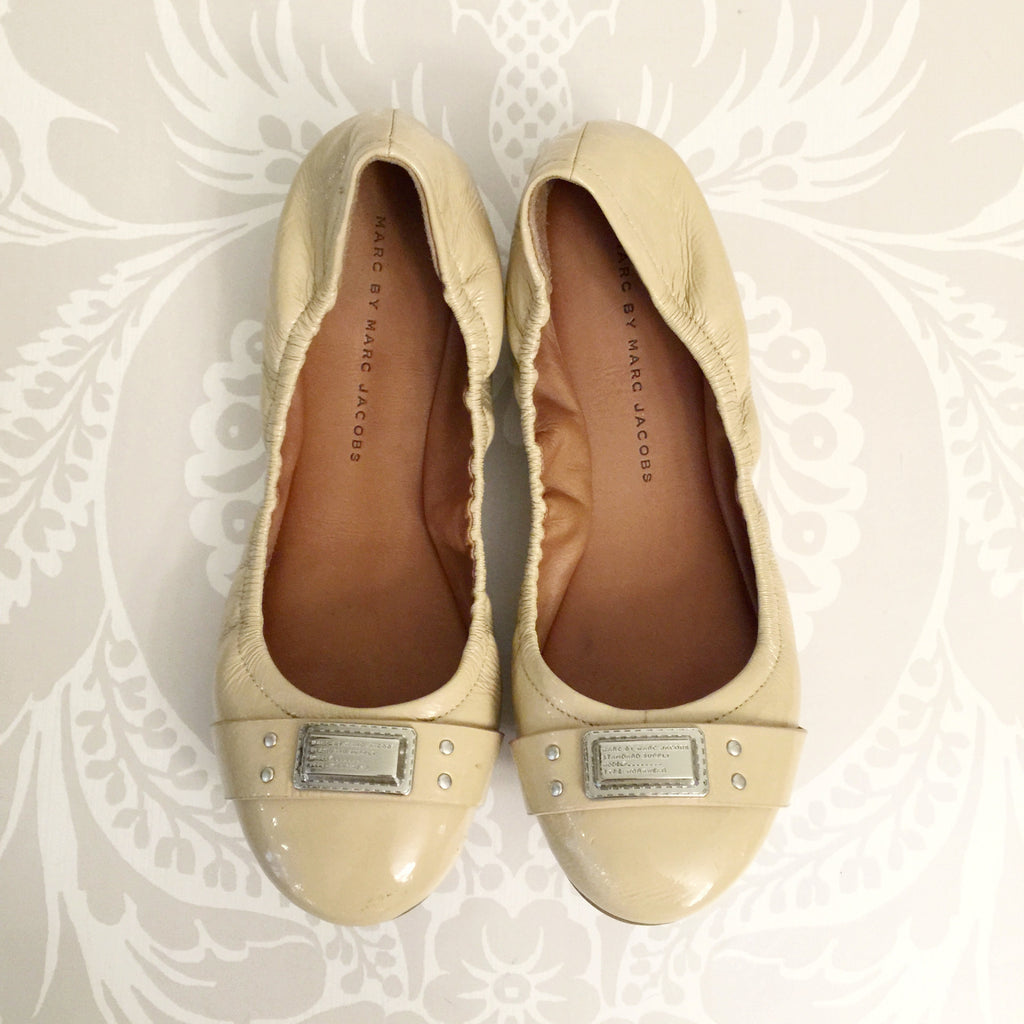 Authentic MARC BY MARC JACOBS Beige Ballet Size 36