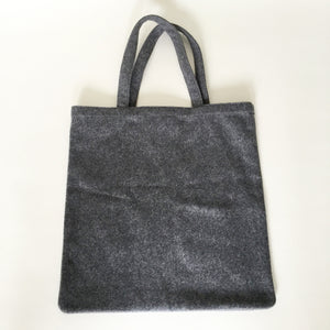 Authentic Yves Saint Laurent Wool Safety Pin Tote Bag