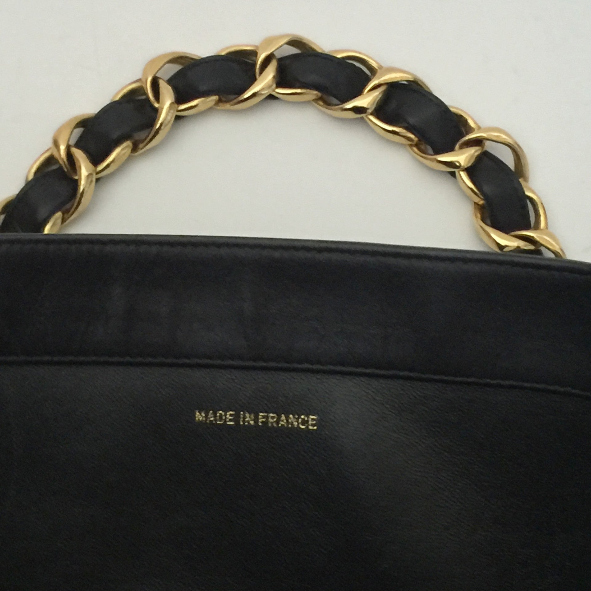 5257fc7981f8 Authentic CHANEL XL Jumbo Black Tote – Valamode