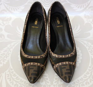 Authentic FENDI Logo Shoes Size 11