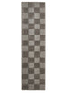 Horizon Wool Hand Loomed Runner Rug - Box Smoke
