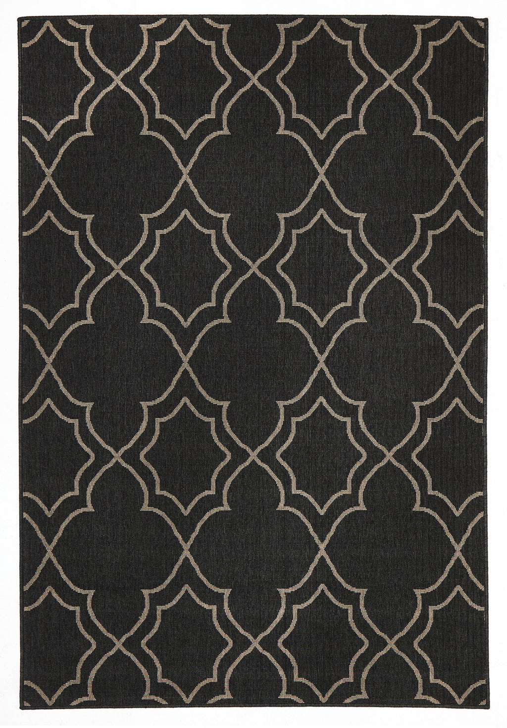 Malibu Casablanca Charcoal Outdoor Rug