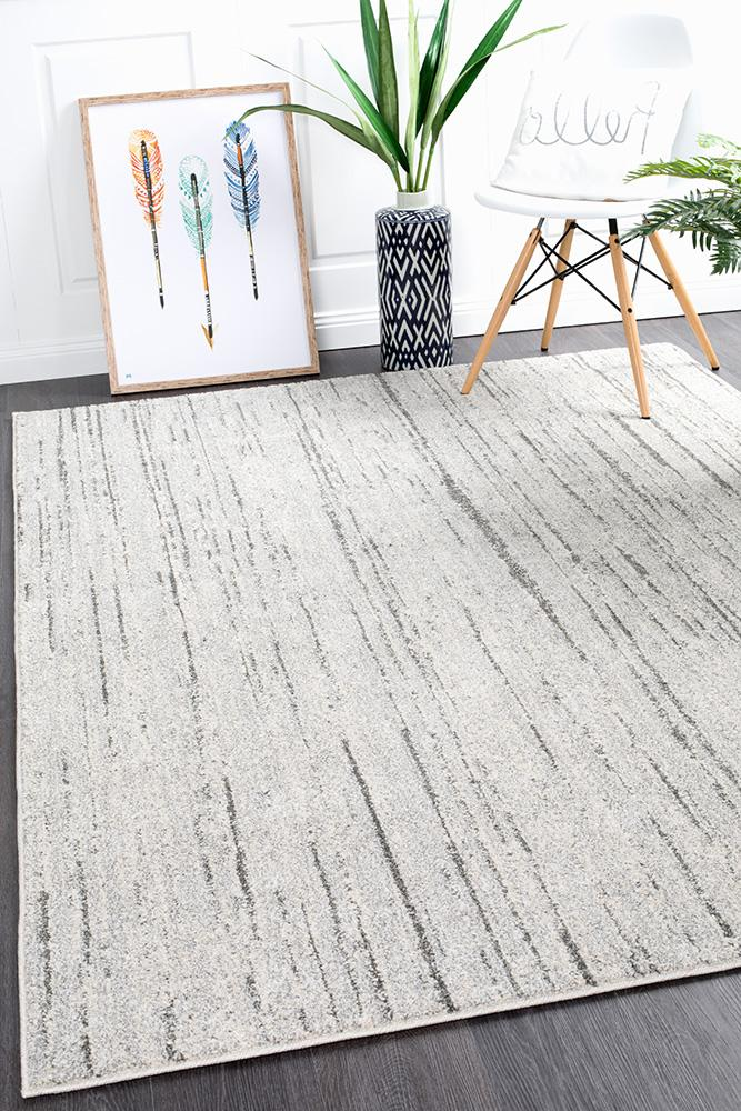 Riverside Flow Grey Rug