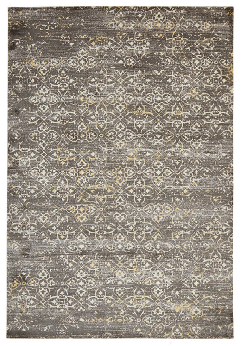 Brighton Faded Modern Brown Rug