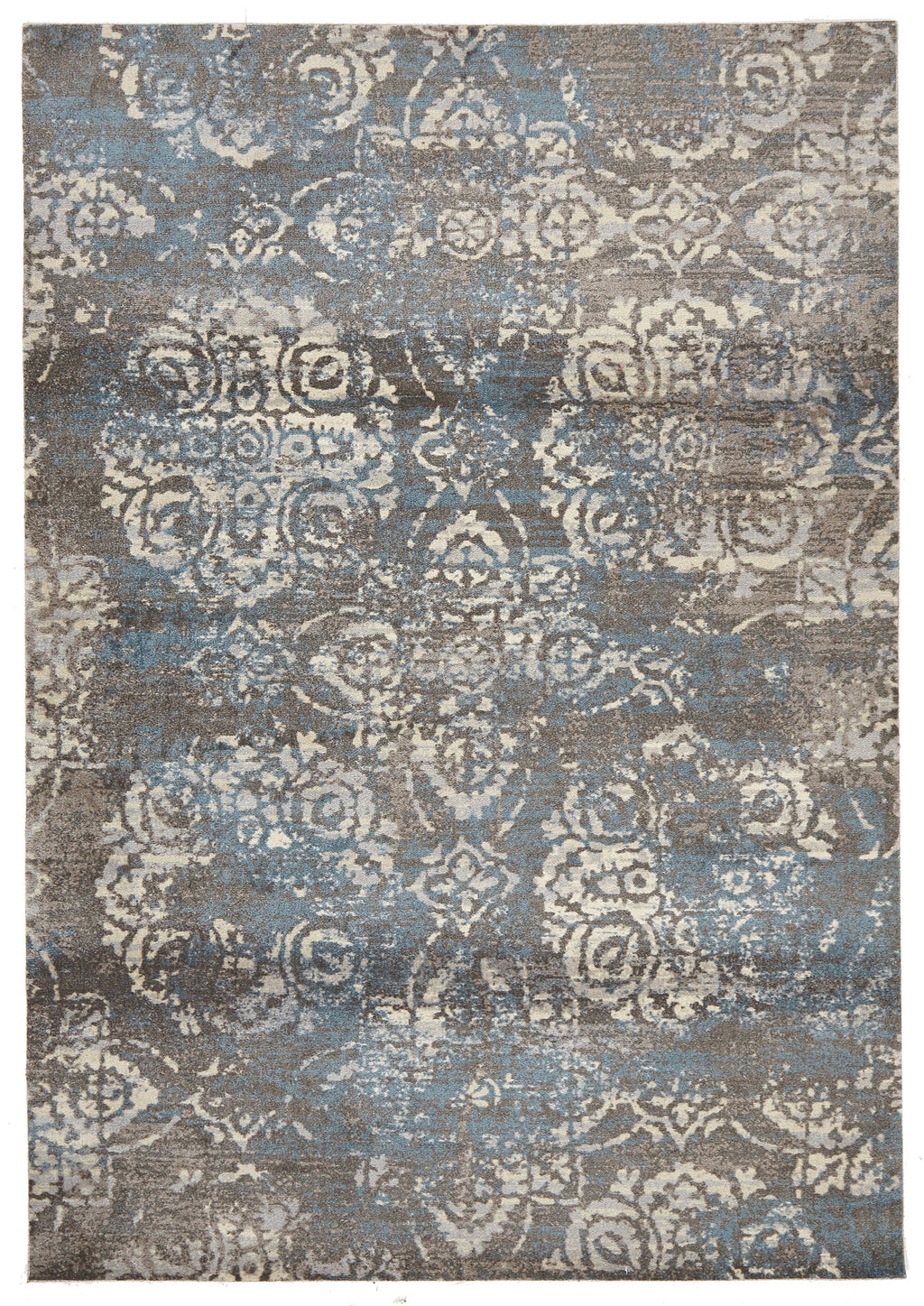 Brighton Mix Modern Grey Rug