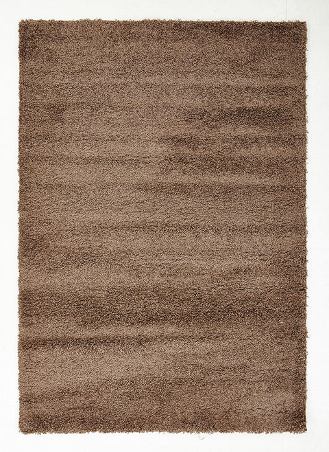 Swift Soft Dense Plain Dark Beige Shag Rug