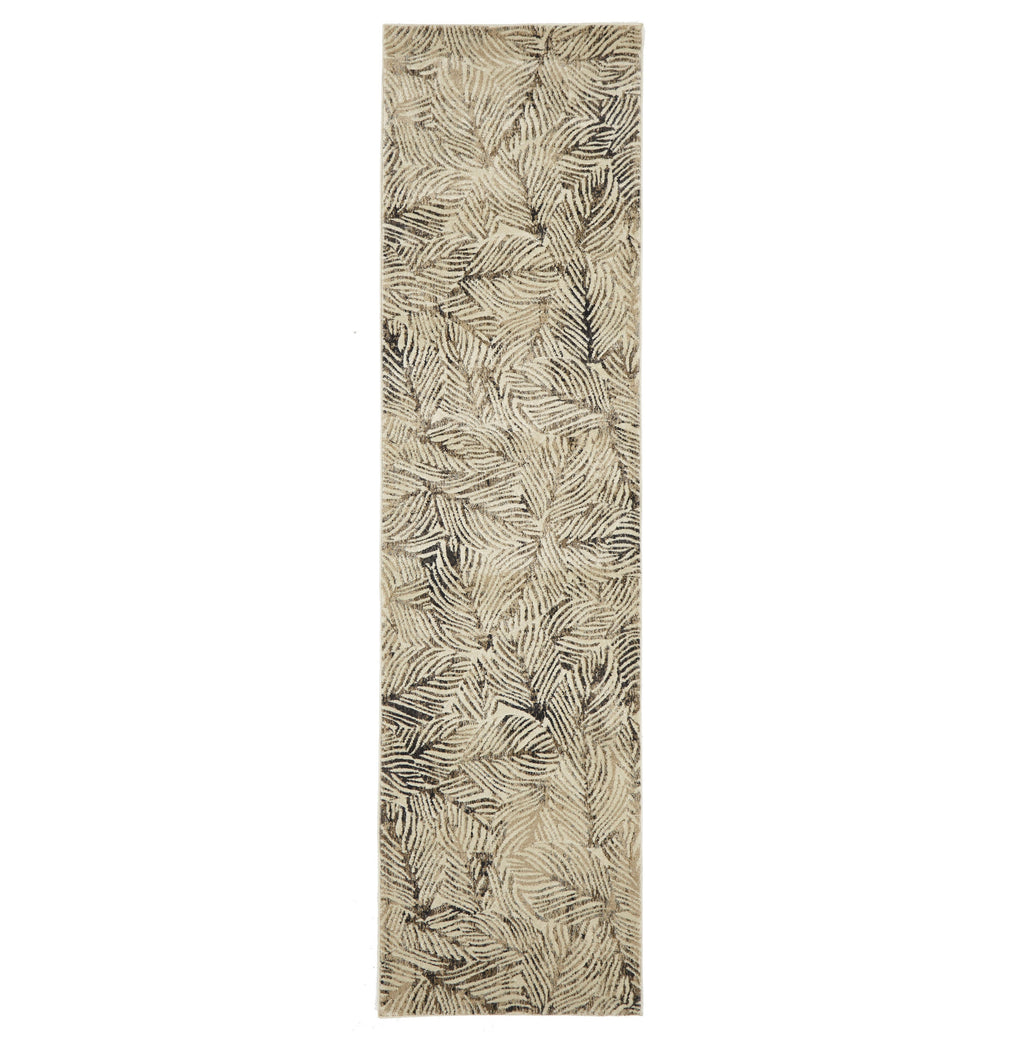 Destiny Artistic Nature Modern Charcoal Rug