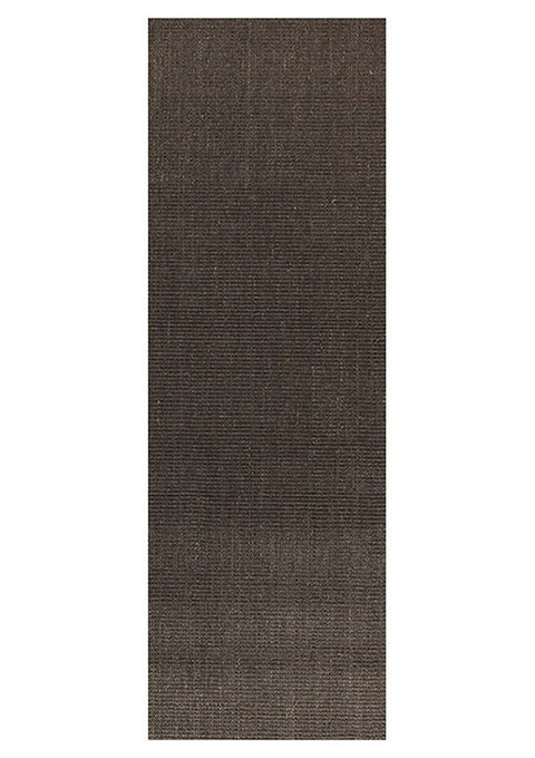 Element Natural Sisal Runner Rug Boucle Charcoal
