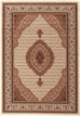 Emerald Stunning Formal Oriental Design Rug Cream