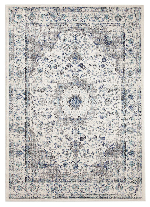 Estella Mist White Transitional Rug
