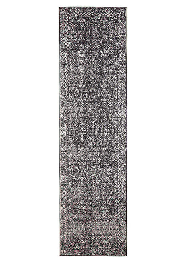 Estella Estella Charcoal Transitional Runner Rug