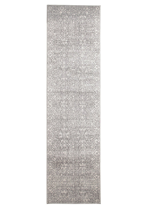 Estella Pidgeon Grey Transitional Runner Rug