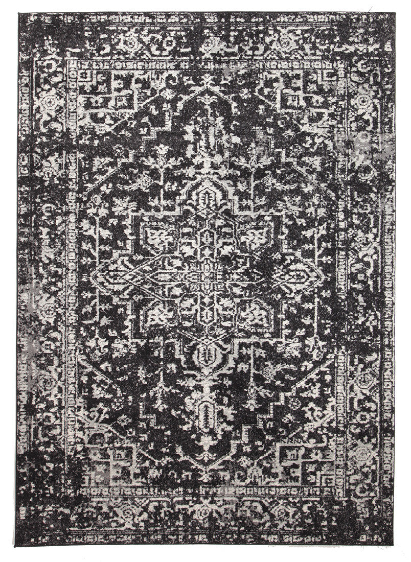 Estella Scape Charcoal Transitional Rug