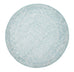 Estella Depth Blue Transitional Round Rug