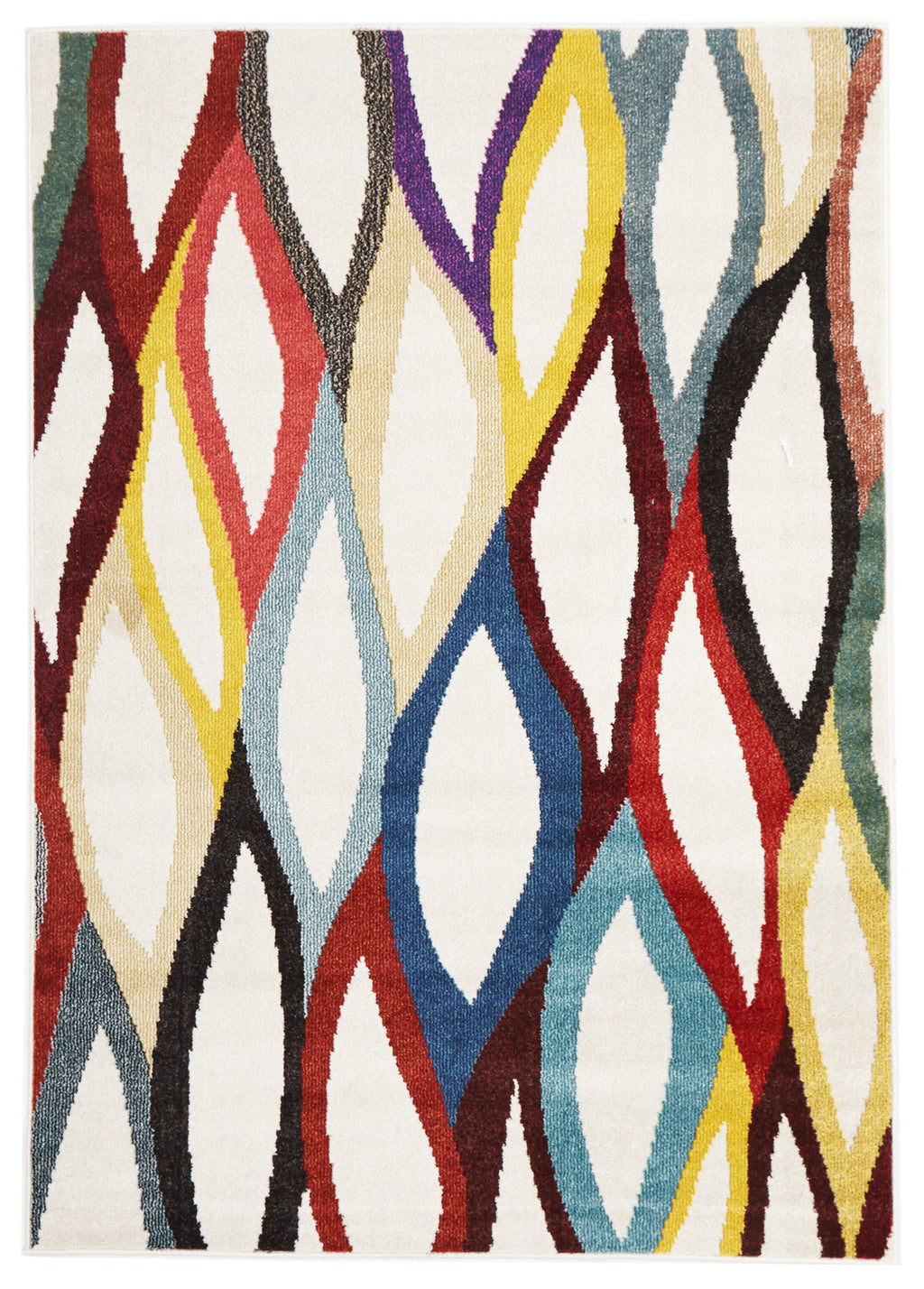 Lorenzo Ellis Modern Multi Coloured Rug