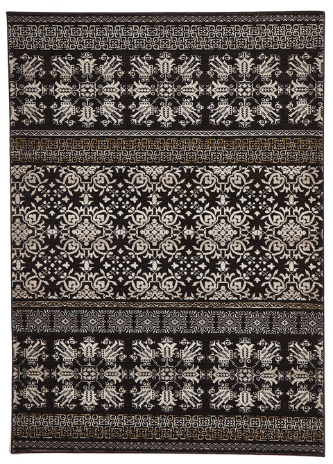 Royal Urban Tribe Designer Rug Brown