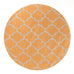 Grande Lattice Orange Rug