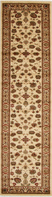Valencia Traditional Floral Design Rug Ivory