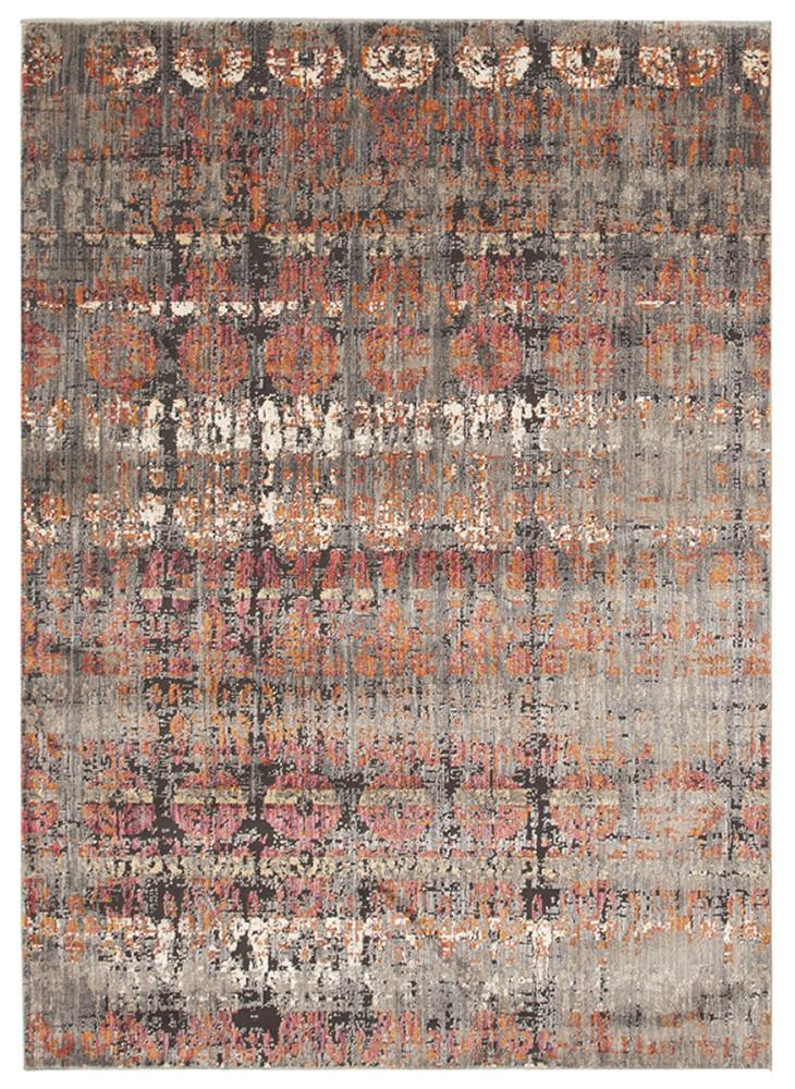 Fluid Eve Modern Rust Rug