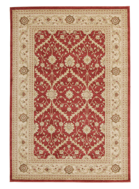 Diamond Chobi Design Rug Red Bone