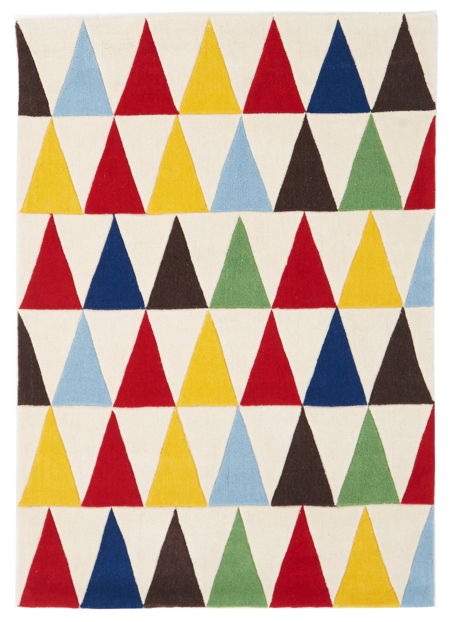 Kids Space Bunting Multi Coloured Rug – Rugselect