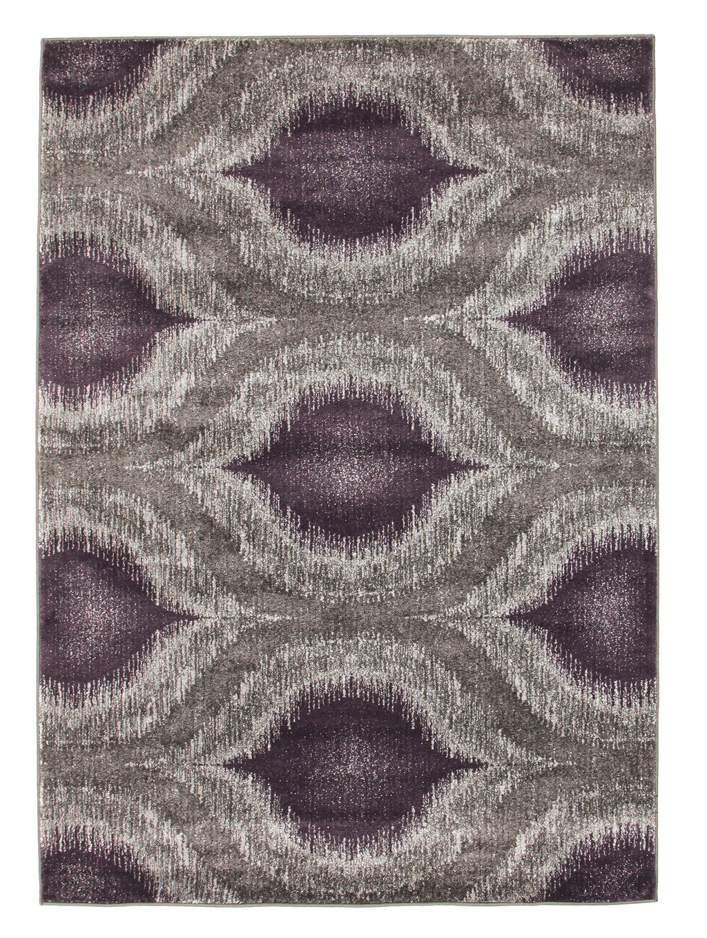Ella Lucid Dream Modern Rug Purple