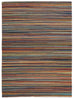 Rio Flat Weave Striped Design Rug Multi