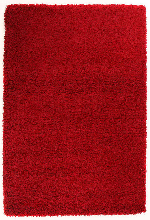 Ultra Thick Super Soft Shag Rug Red