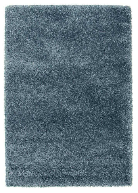 Ultra Thick Super Soft Shag Rug Teal Blue