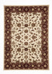 Shiraz Classic Rug Ivory with Red Border