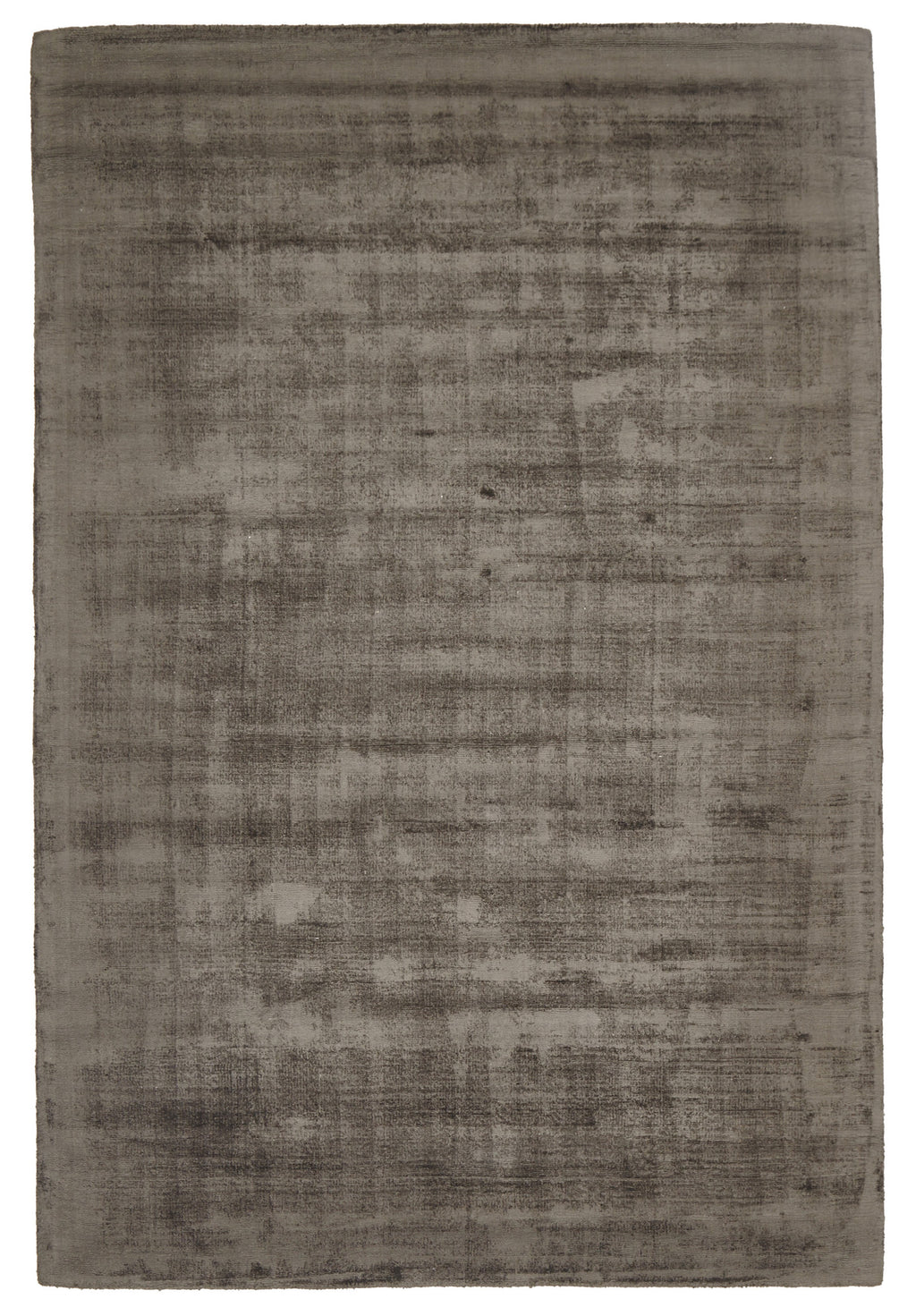 Luxe Modern Distressed Rug Chocolate