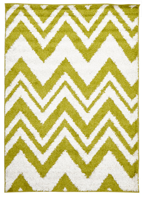 Vista Chevy Shag Rug Lime