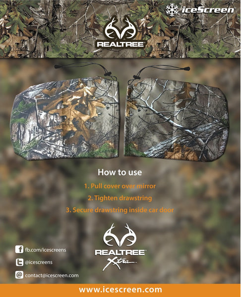 RealTree Camo Mirror Mitts
