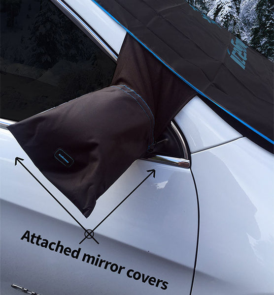 Windshield Mirror Mitts Snow Cover