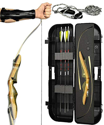 "Spyder XL 64"" Takedown Recurve Bow - Ready 2 Shoot Archery Set"