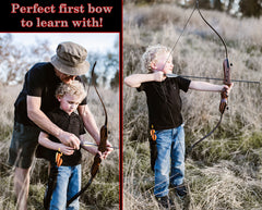 "SWA 62"" Tiger Takedown Recurve Bow"