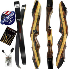 "SWA 62"" Tigershark Takedown Recurve Bow"