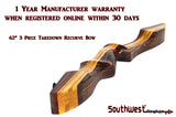 "Southwest Archery Tigershark PRO 62"" Takedown Recurve"