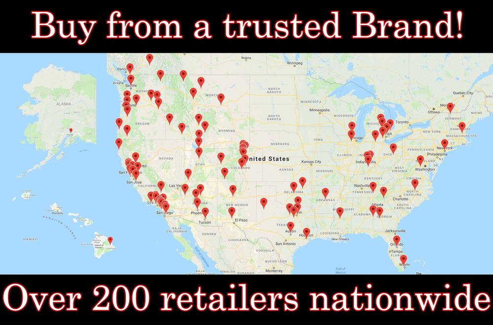 Check out our Dealers across the Nation!
